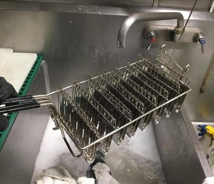 A clean fryer