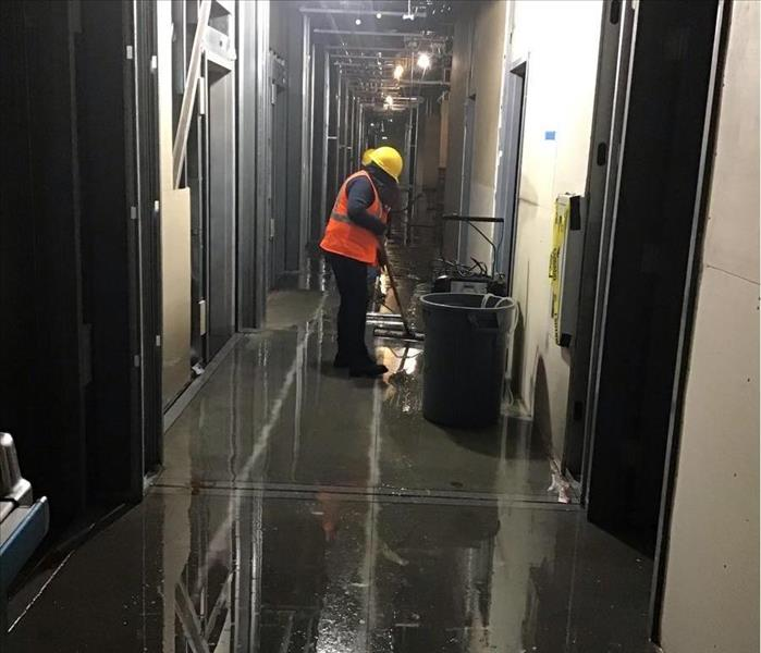 commercial water damage clean-up near me compton