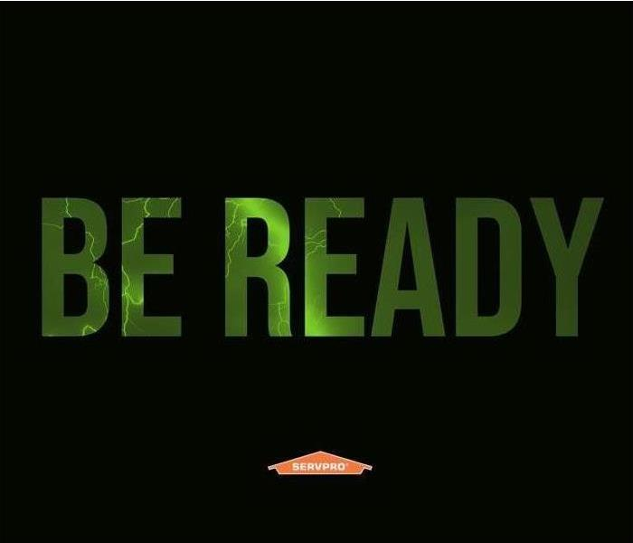 Be Ready with SERVPRO logo.